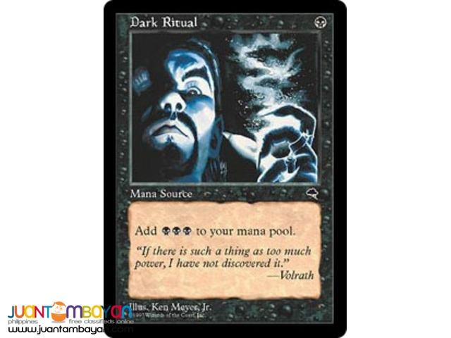 Dark Ritual (Magic the Gathering Trading Card Game)
