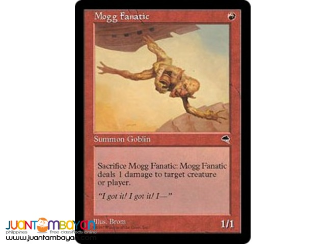 Mogg Fanatic (Magic the Gathering Trading Card Game)