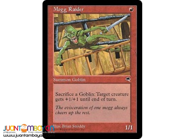 Mogg Raider (Magic the Gathering Trading Card Game)