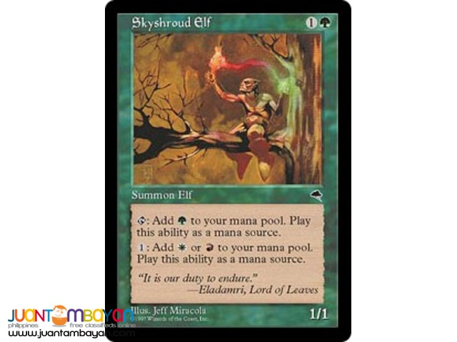 Skyshroud Elf (Magic the Gathering Trading Card Game)