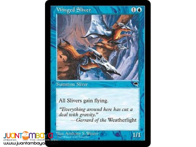 Winged Sliver (Magic the Gathering Trading Card Game)