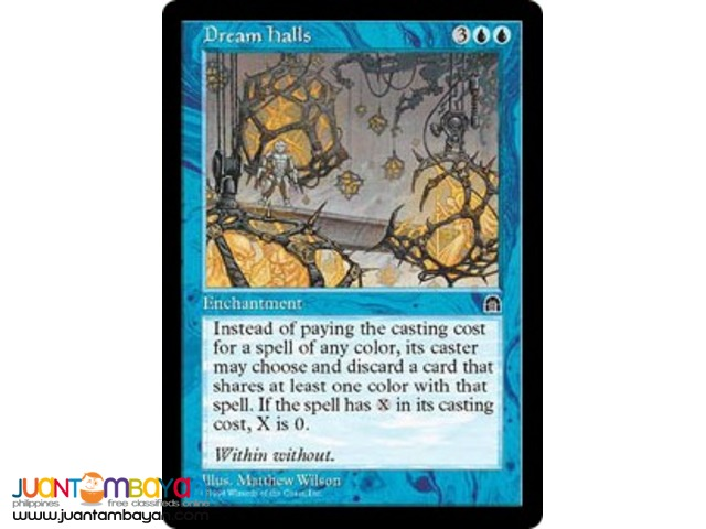 Dream Halls (Magic the Gathering Trading Card Game)