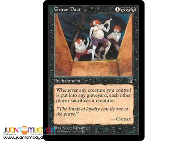 Grave Pact (Magic the Gathering Trading Card Game)