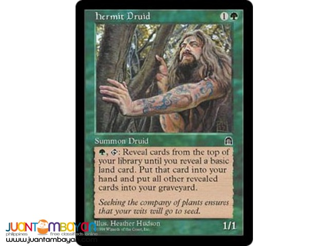 Hermit Druid (Magic the Gathering Trading Card Game)
