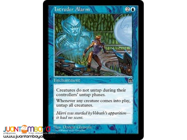 Intruder Alarm (Magic the Gathering Trading Card Game)