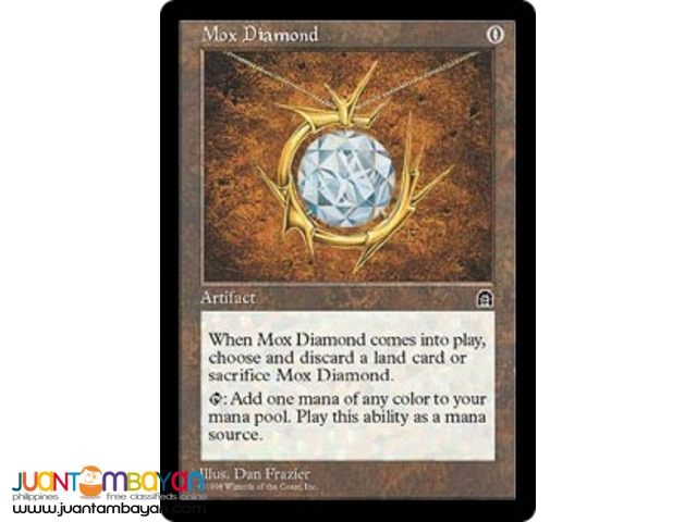 Mox Diamond (Magic the Gathering Trading Card Game)