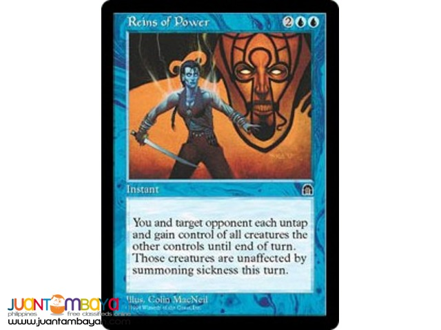 Reins of Power (Magic the Gathering Trading Card Game)