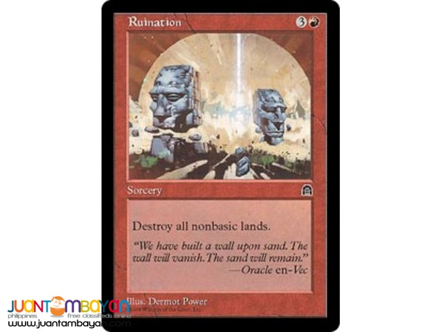 Ruination (Magic the Gathering Trading Card Game)