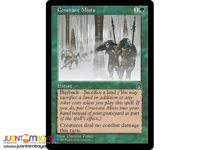 Constant Mists (Magic the Gathering Trading Card Game)