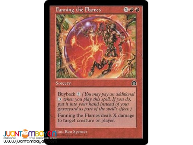 Fanning the Flames (Magic the Gathering Trading Card Game)