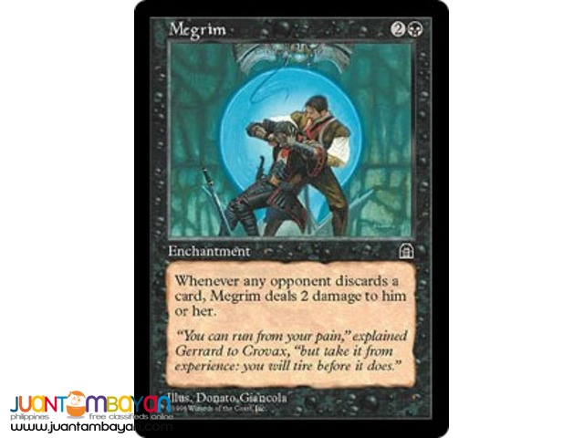 Megrim (Magic the Gathering Trading Card Game)