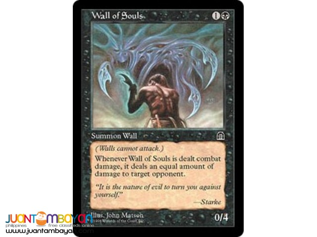 Wall of Souls (Magic the Gathering Trading Card Game)