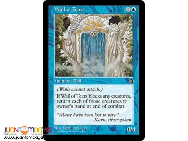 Wall of Tears (Magic the Gathering Trading Card Game)
