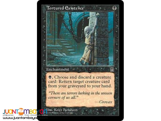 Tortured Existence (Magic the Gathering Trading Card Game)
