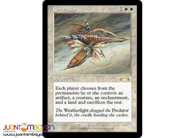 Cataclysm (Magic the Gathering Trading Card Game)
