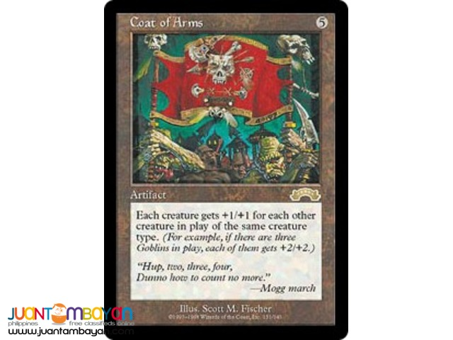 Coat of Arms (Magic the Gathering Trading Card Game)