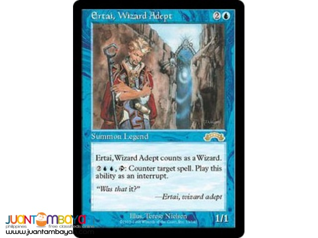 Ertai, Wizard Adept (Magic the Gathering Trading Card Game)