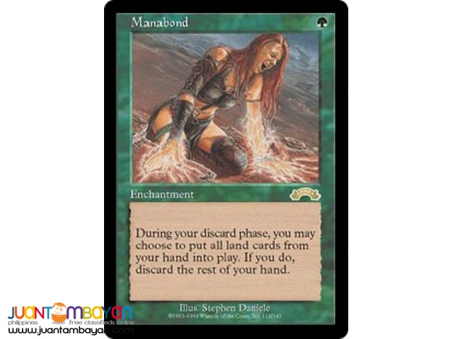Manabond (Magic the Gathering Trading Card Game)