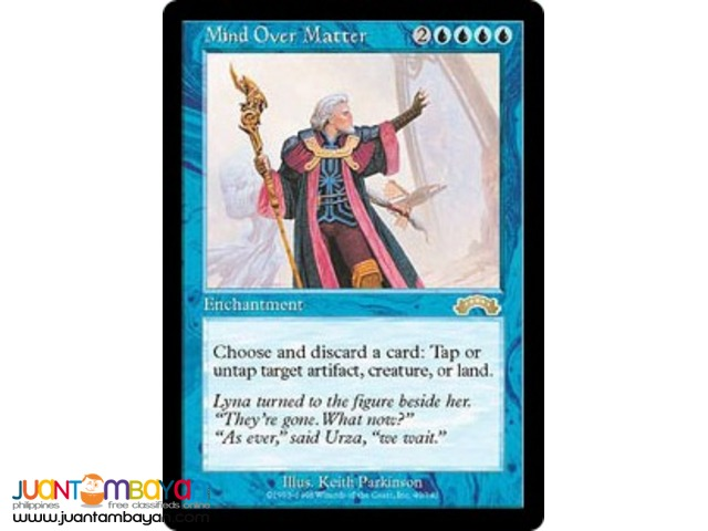 Mind Over Matter (Magic the Gathering Trading Card Game)