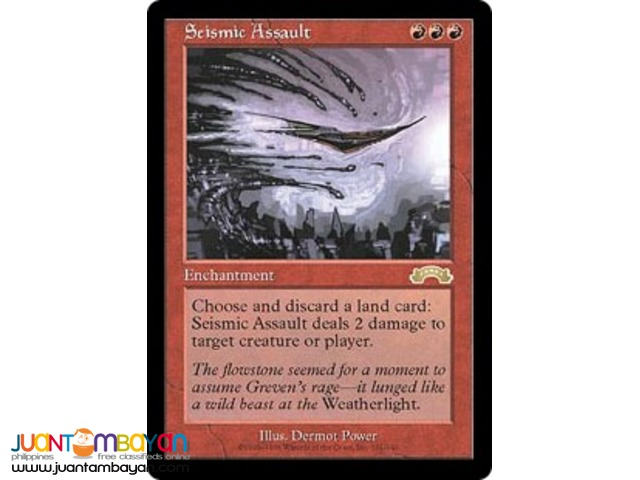 Seismic Assault (Magic the Gathering Trading Card Game)