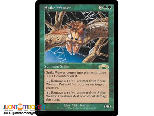 Spike Weaver (Magic the Gathering Trading Card Game)