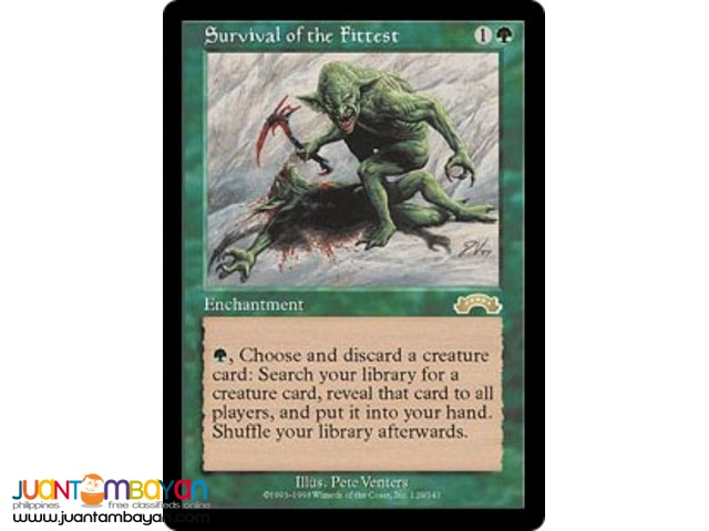Survivor of the Fittest (Magic the Gathering Trading Card Game)