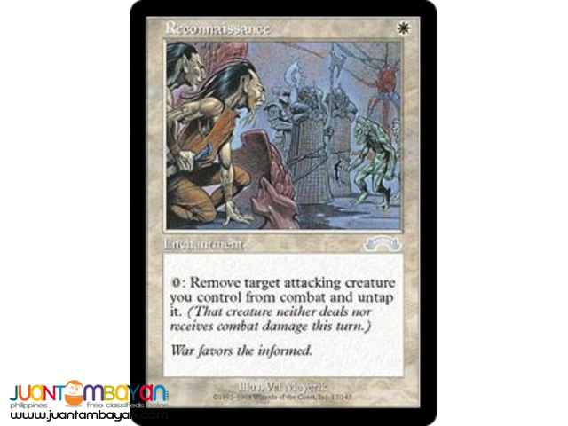 Reconnaissance (Magic the Gathering Trading Card Game)
