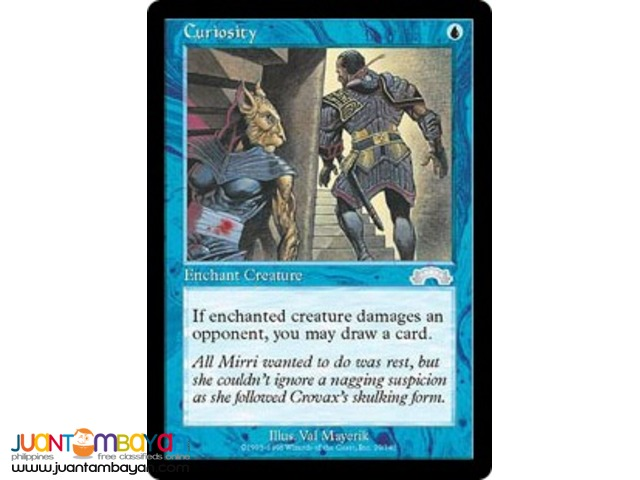 Curiosity (Magic the Gathering Trading Card Game)