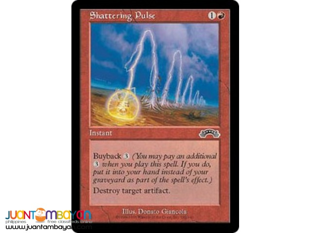 Shattering Pulse (Magic the Gathering Trading Card Game)