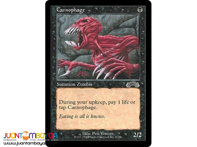 Carnophage (Magic the Gathering Trading Card Game)