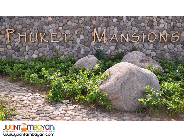 Phuket mansions at Southforbes Golf City-Laguna