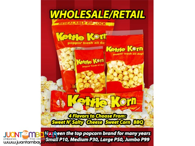 Kettle Korn - The Top Popcorn Brand