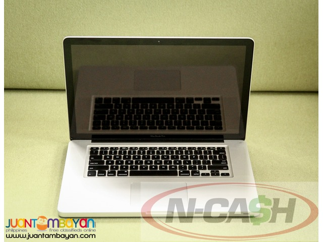 Gadget Pawnshop by N-CASH - Apple Macbook Pro 15-inch Quad-Core i7