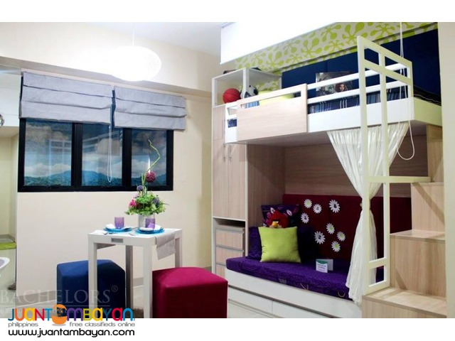 Eagles Nest Brand New Studio Type Unit For Rent