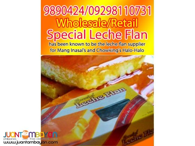 Special Leche Flan and Ube Halaya (Mang Inasal and Chowking)