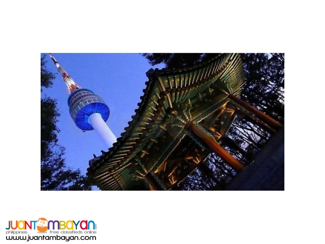 Korea Night Tour, with N Seoul Tower, the highest point in Seoul