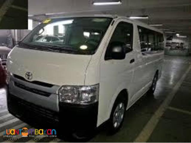 2016 Toyota Hi ace commuter 99K downpayment