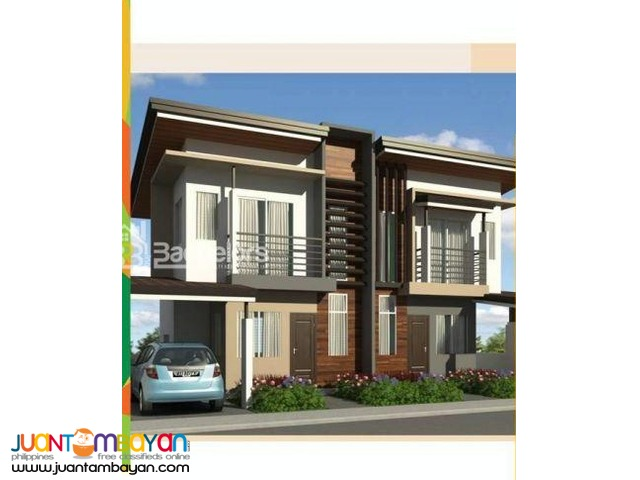 Duplex House as low as P13,738k monthly equity in Carcar Cebu