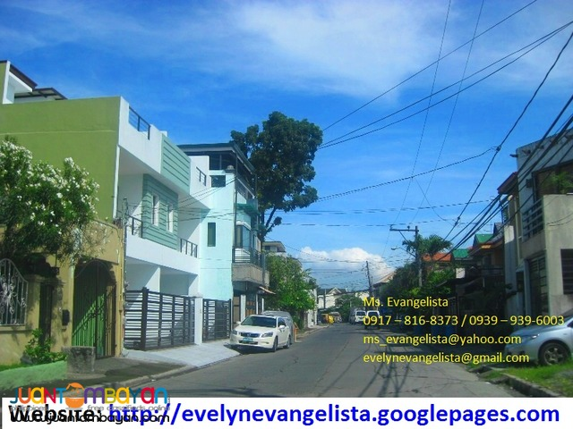 Greenwoods Phase 9E & 9F Sandoval Ave. Pasig City @ P 9,200/sqm.