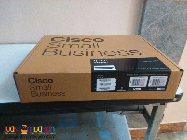 Cisco SG200-10FP-EU 10port Gigabit Smart Switch PoE