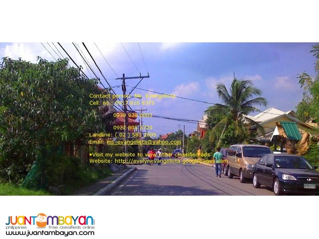 Vermont Park Brgy. Mayamot Antipolo City @ P 12,000/sqm.