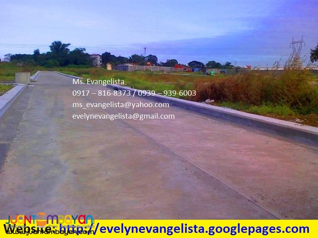 Glenrose North Bignay Valenzuela City @ P 5,000/sqm.