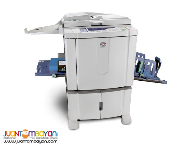 RENTAL RISOGRAPH RZ 220 Quick Duplicating Machine
