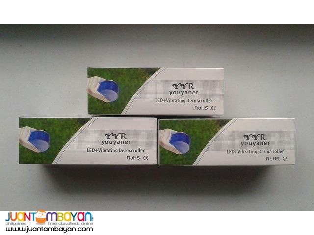Dermaroller Derma Roller Healing LED Blue Light For Acne