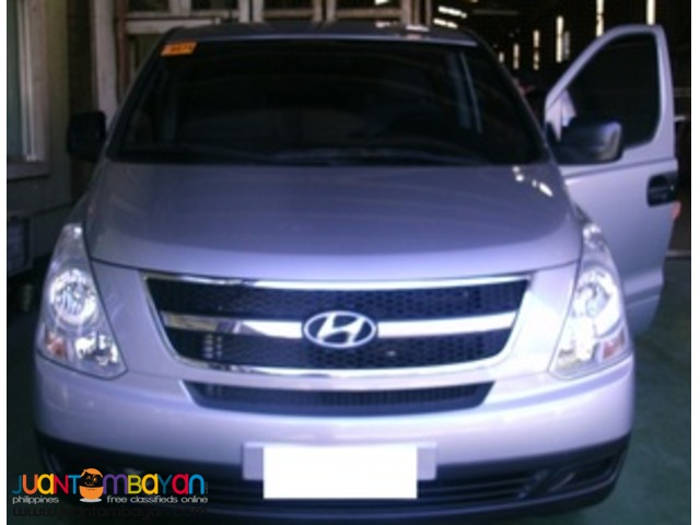 HYUNDAI STAREX is here!-Rental services
