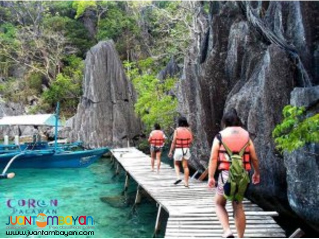 Coron tour package, of lagoons, corals and wrecks