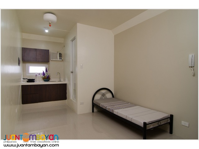 Studio Apartment for Rent University Belt- Recto