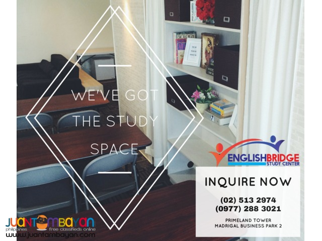 Study Nooks and Workstations in Alabang Business Park for Rent