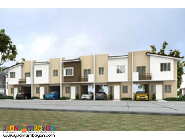 Townhouse in Kahaya Place Dasmarinas Cavite thru Pag-ibig, Aura Model