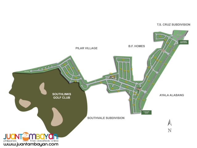 Alabang West Lots For Sale Most Executive Villlage In The South